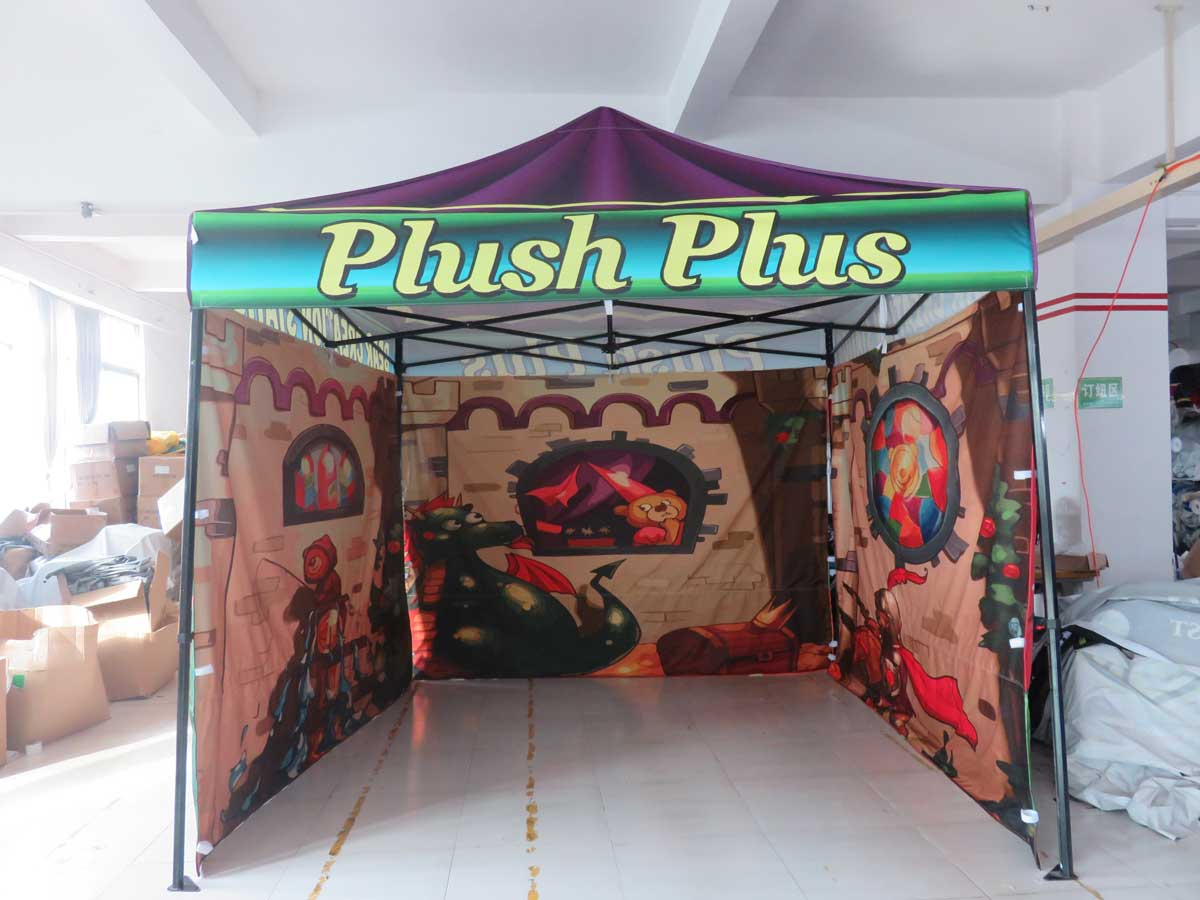 Custom Printed Pop Up Canopy Tents Free Shipping