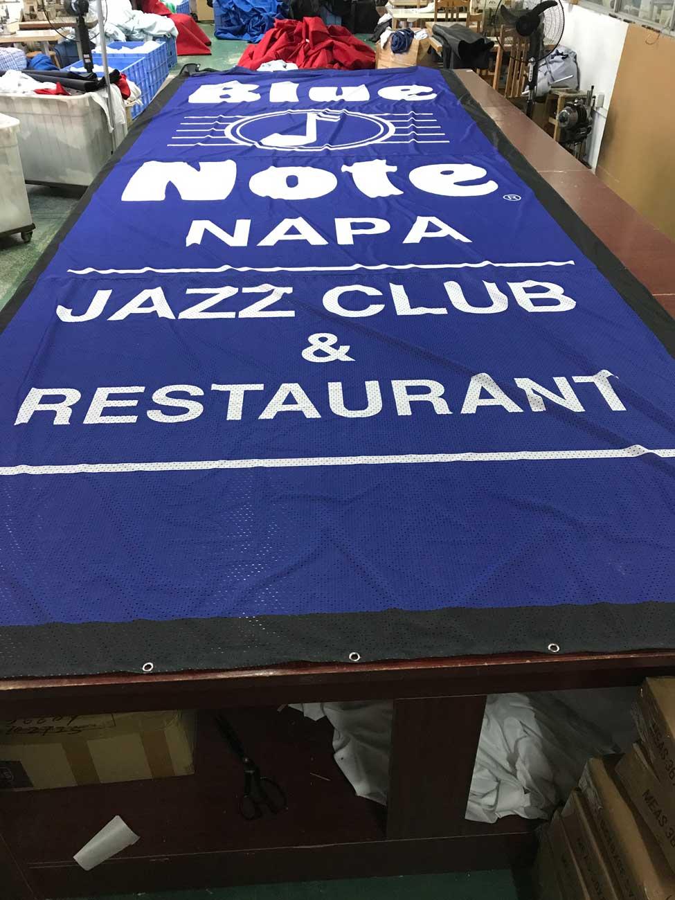Fabric Mesh Banners