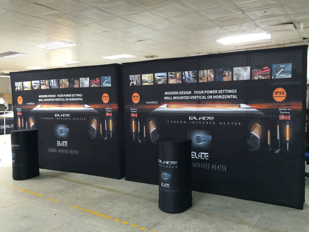 Pop Up Display For Trade Shows Plus Step Amp Repeat Banners