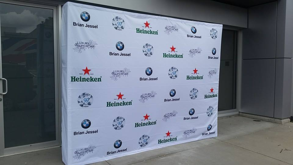 Pop up Display for Trade Shows plus Step & Repeat Banners.