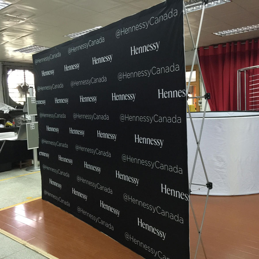 My Instant Offer >> Pop up Display for Trade Shows plus Step & Repeat Banners.
