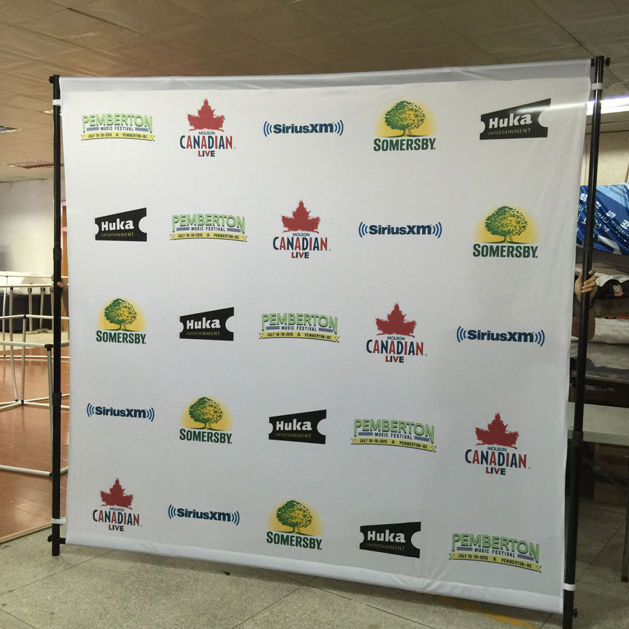 Backdrop Stand For Banners Displays Step amp Repeat Walls