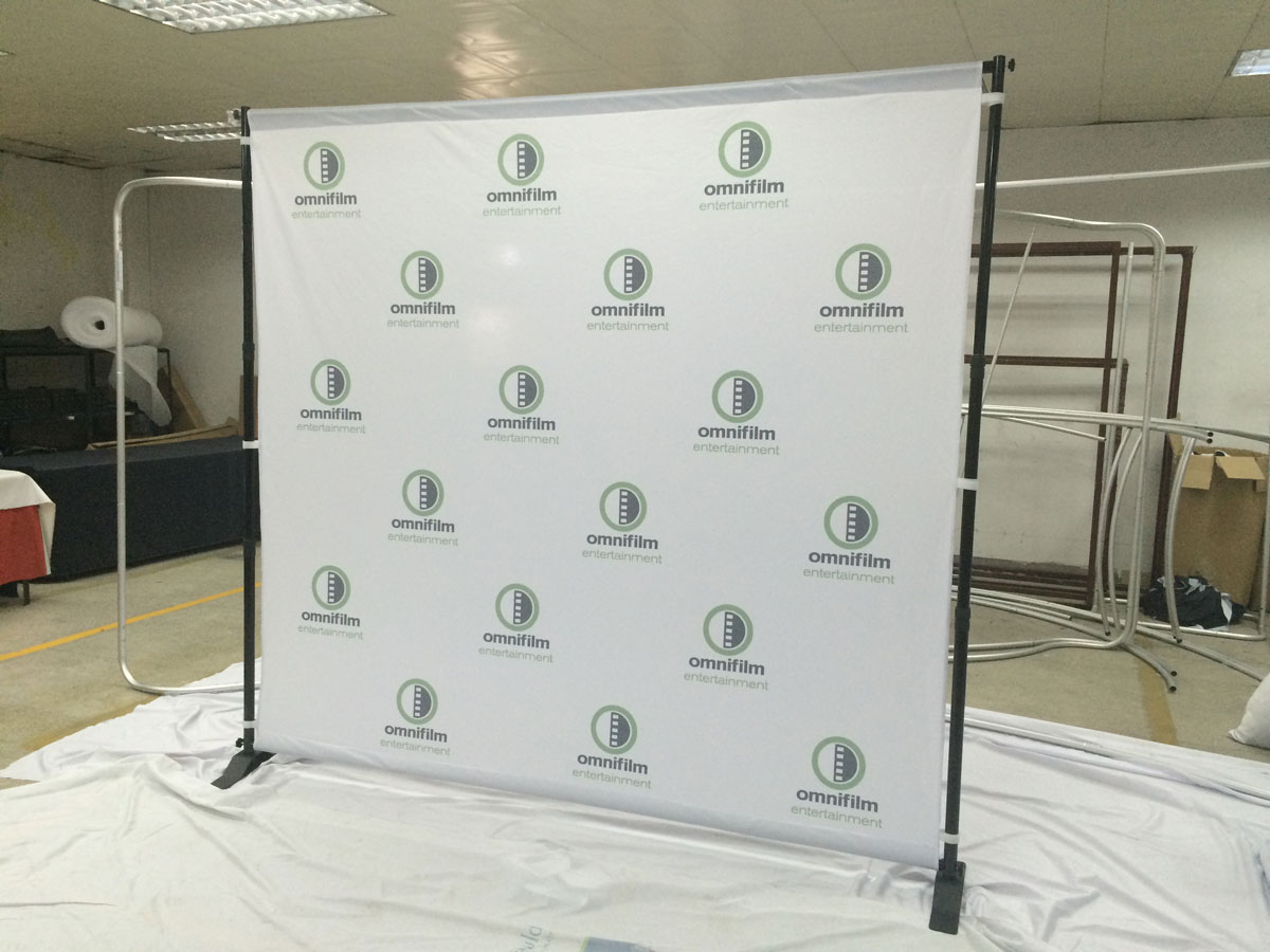 Backdrop Stand For Banners Displays Step Amp Repeats
