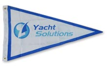 Standard custom made Pennant Flags