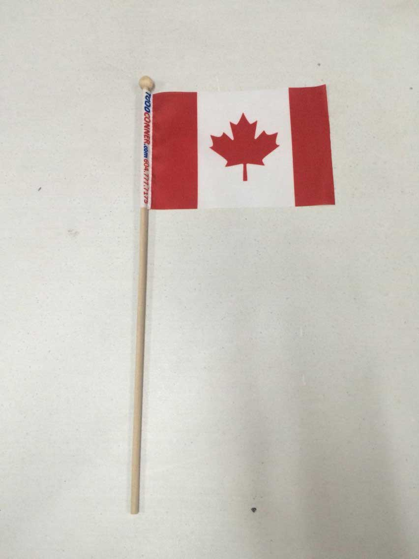 Custom Printed Hand Flags