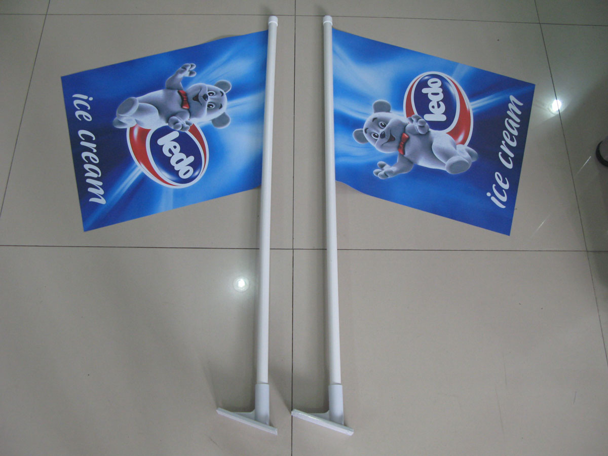 Wall Flags Custom Printed For Indoor And Outdoor Advertising