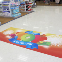 Floor Stickers Printing Non Skid And Frosted