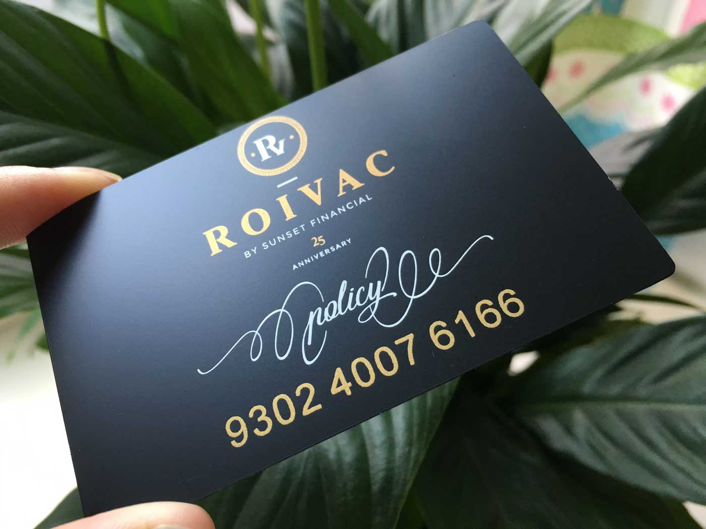 Matte black metal business cards reheart Choice Image