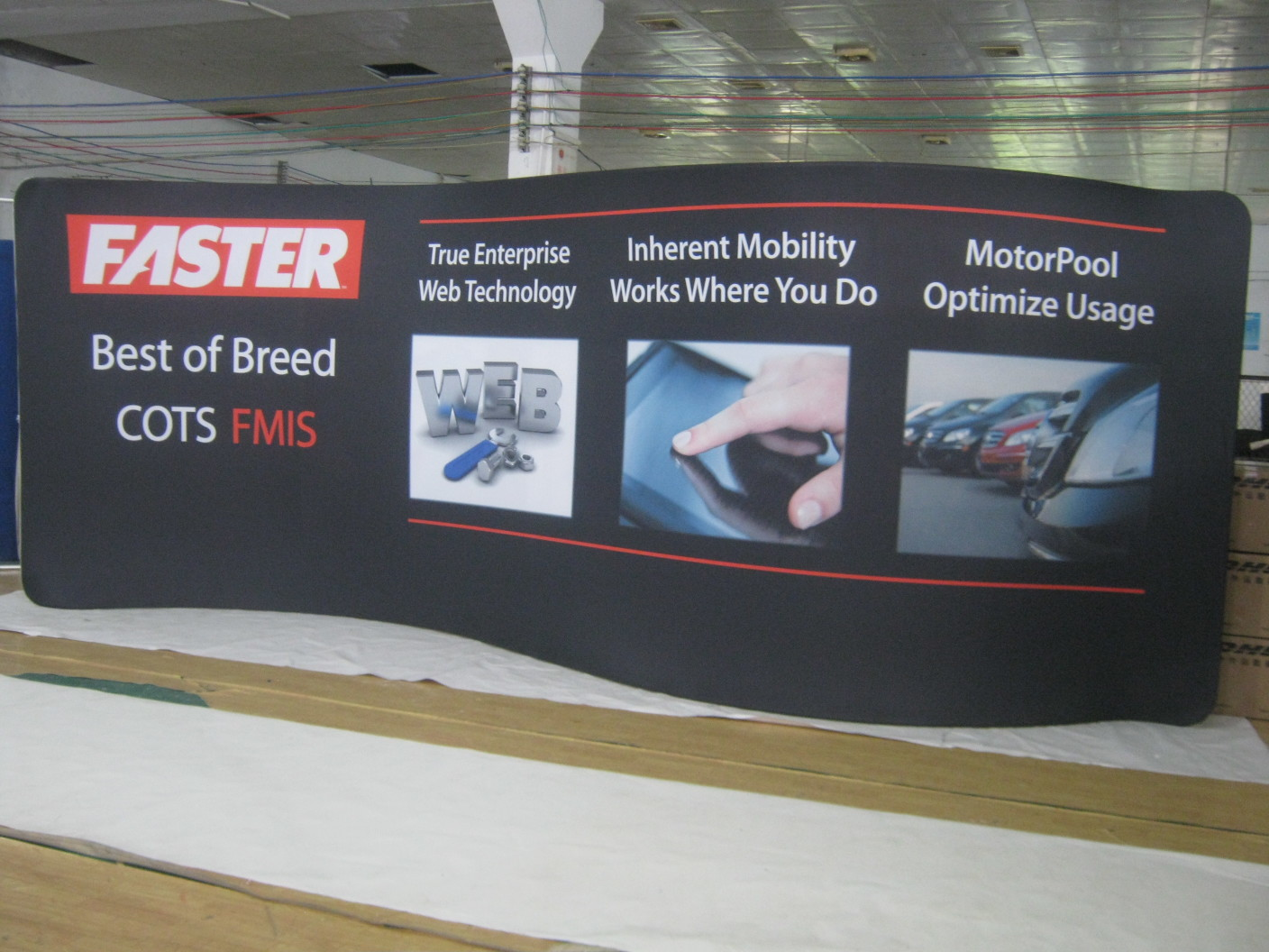 Tension Fabric Displays 20 Feet Wide Canada Usa