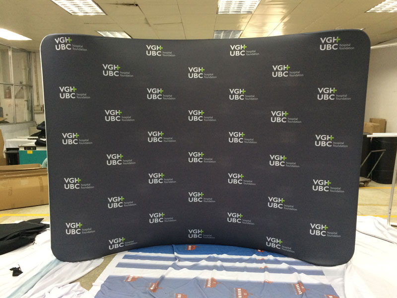 Tension Fabric Displays Waveline For Trade Shows