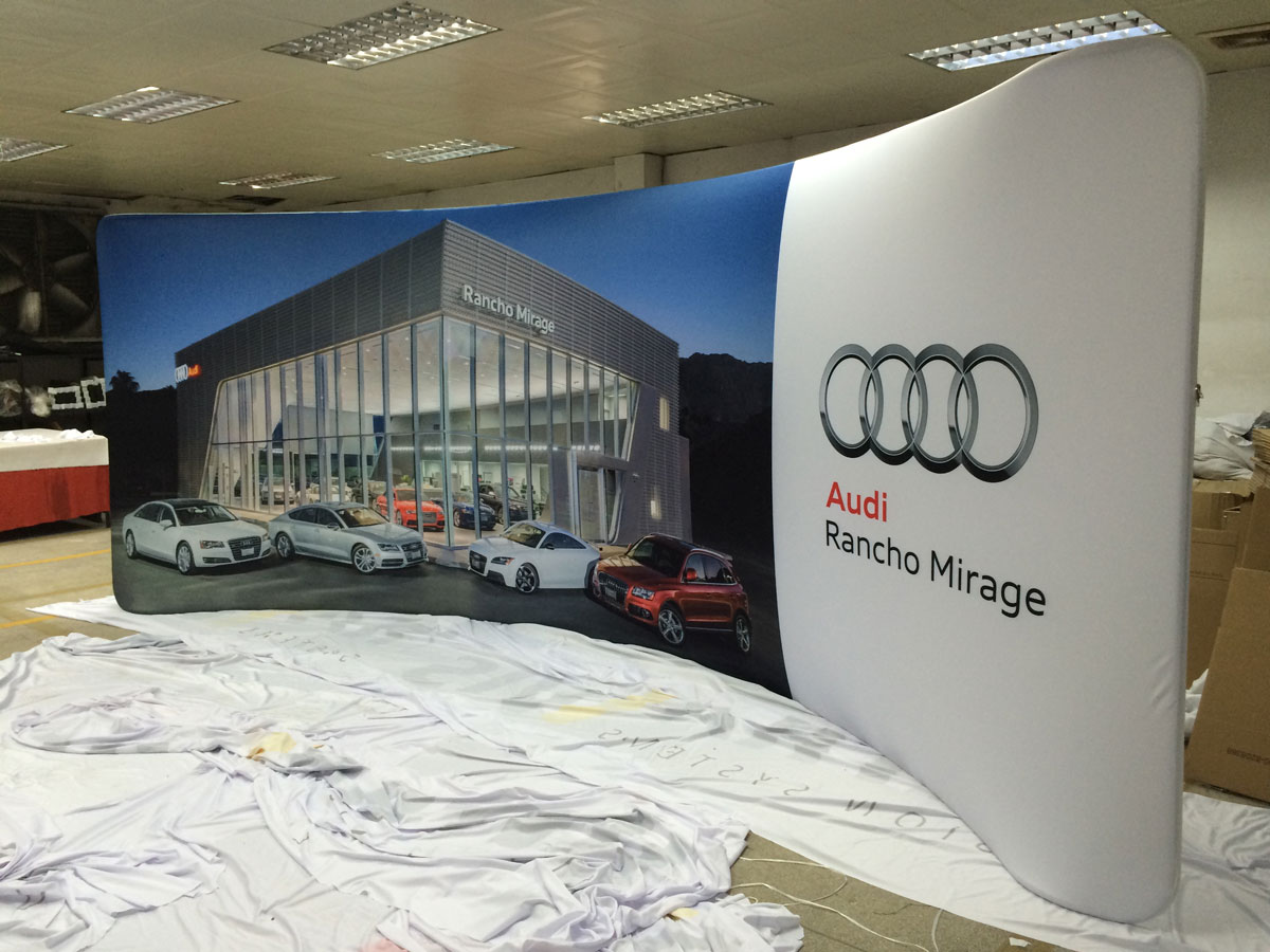 tension fabric tradeshow display supplier