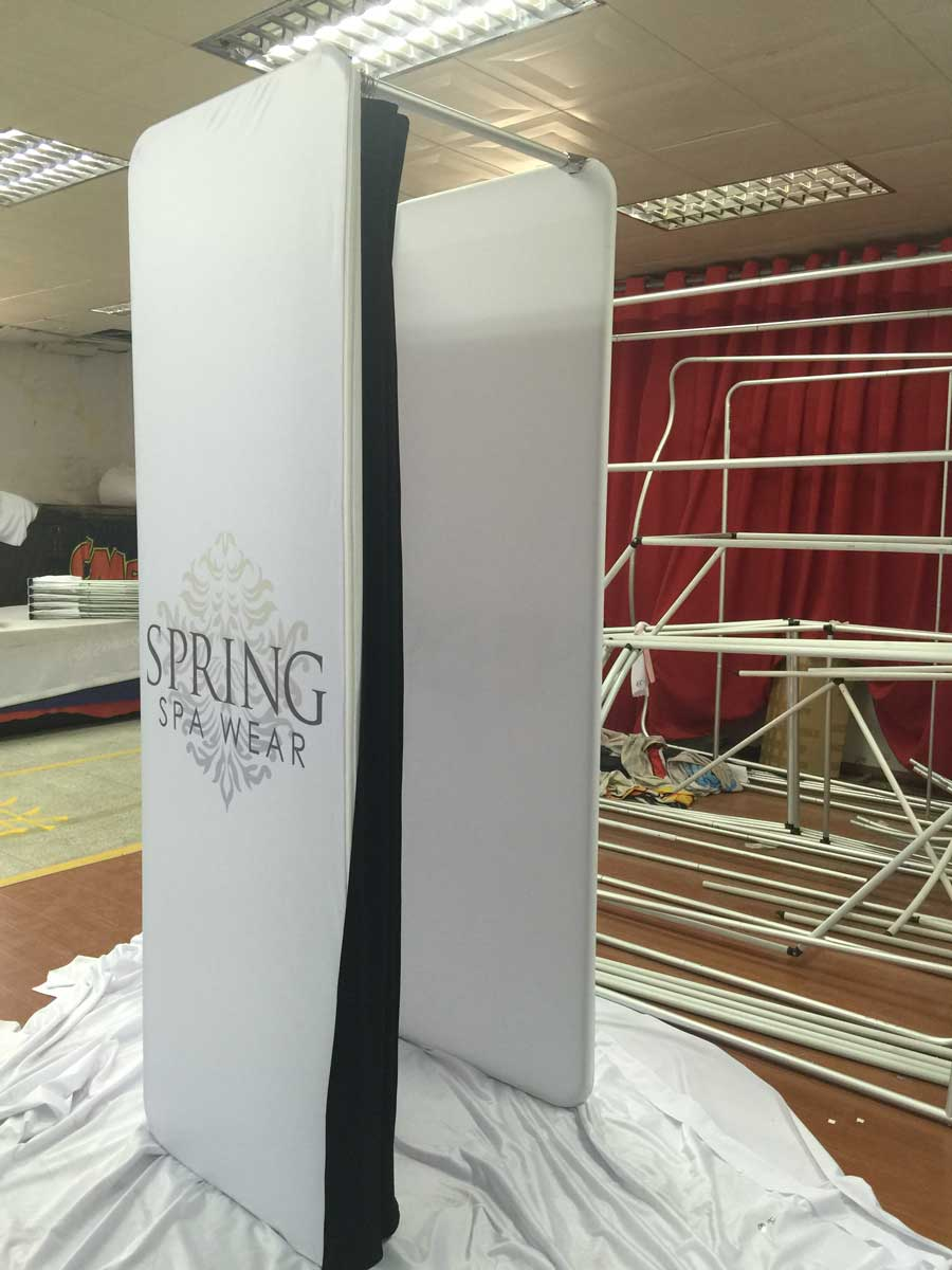 Portable Dressing Room Custom Print Change Rooms