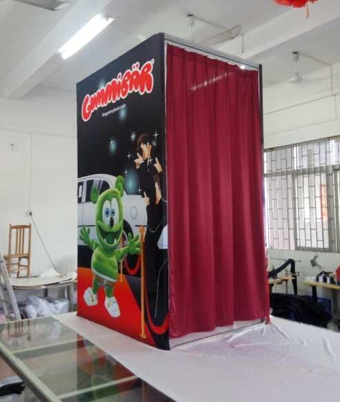 Portable Dressing Rooms - Custom Printed