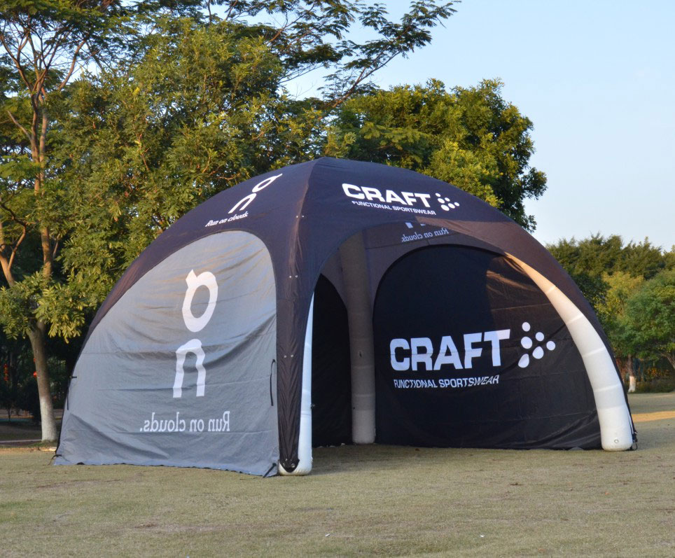 Portable Exhibition Tents : Inflatable dome tents