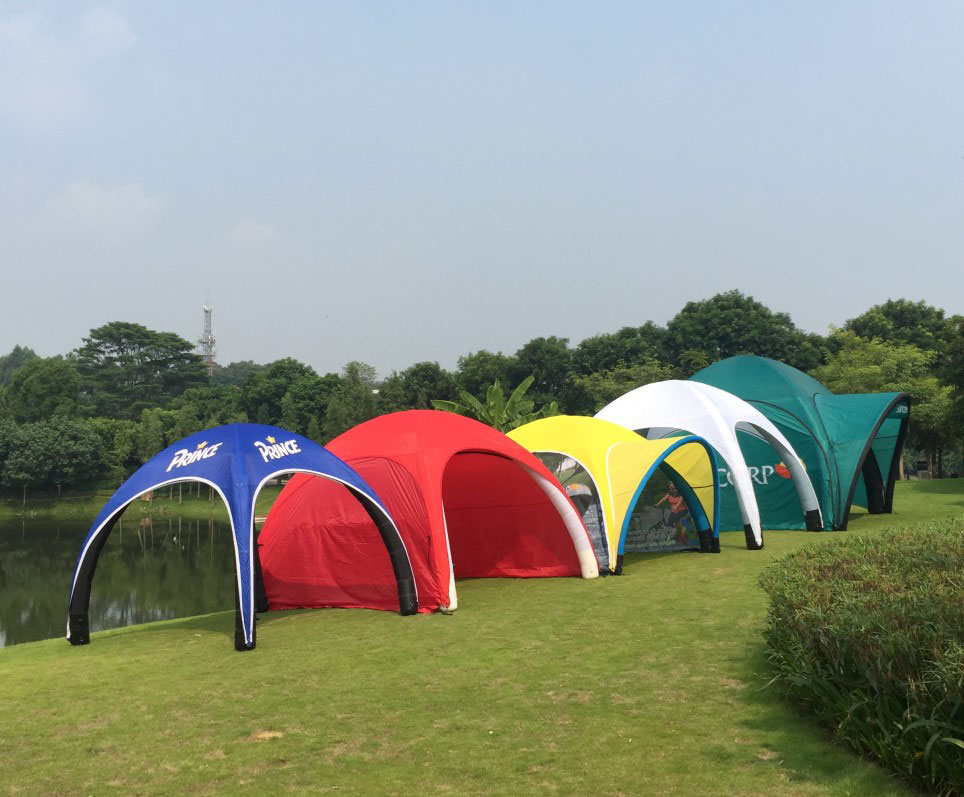 Portable Dome Tents : Inflatable dome tents portable branding solution free