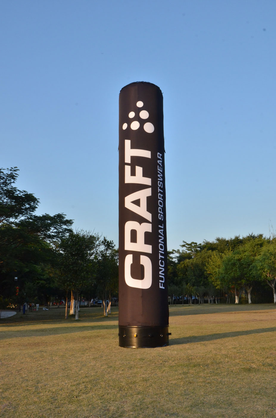 Inflatable Tube Pillars Oh My Print Solutions